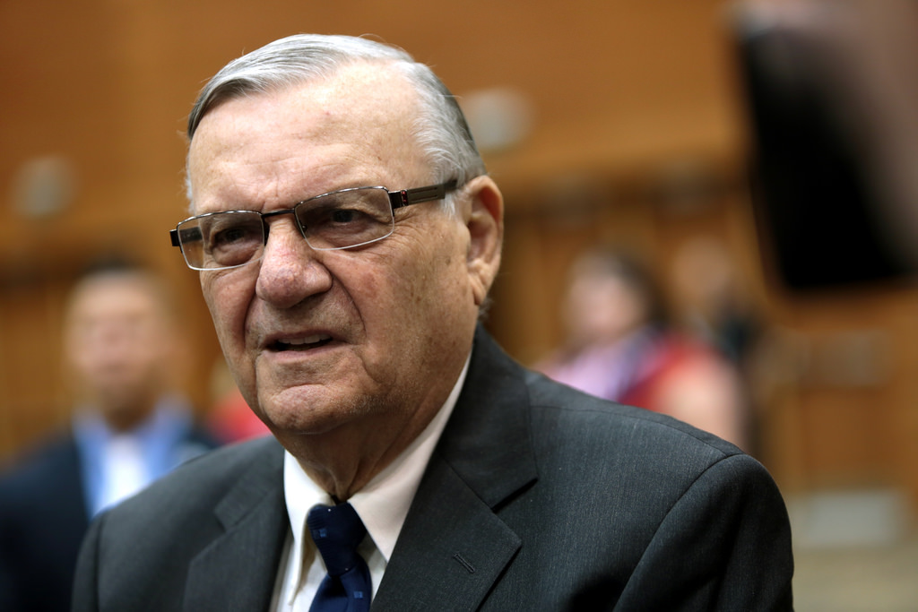 JOE ARPAIO IS AN ABOMINATION TO HUMANITY