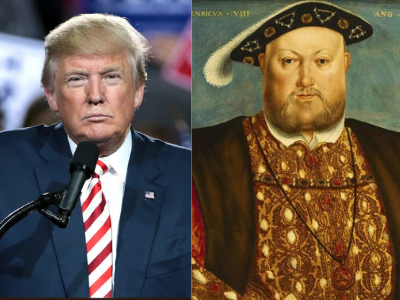 INTERESTING COINCIDENCES OF PRESIDENT TRUMP AND KING HENRY VIII
